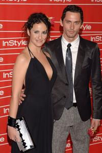 Melanie Olivares and Paco Leon at the In Style Magazine Gala Dinner.