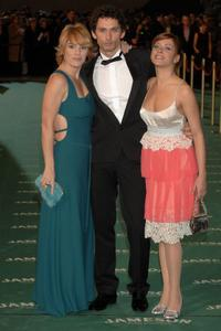 Anabel Alonso, Paco Leon and Maria Leon at the Goya Cinema Awards.