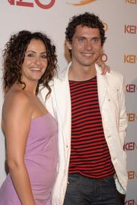 Melanie Olivares and Paco Leon at the Kenzo Summer Party.