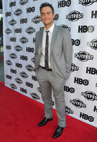 Cheyenne Jackson at the premiere of