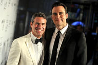 Andy Cohen and Cheyenne Jackson at the 2nd Annual amfAR Inspiration Gala in New York.