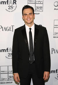 Cheyenne Jackson at the 2nd Annual amfAR Inspiration Gala in New York.