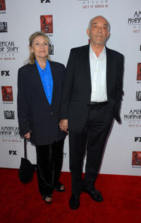 Mark Margolis and Guest at the California premiere of