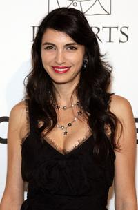 Shiva Rose at the CHANEL and P.S. ARTS Party.