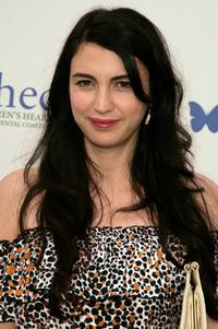 Shiva Rose at the Children's Health Environmental Coalition's (CHEC) annual benefit.