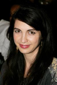 Shiva Rose at the Mercedes Benz Fashion week.