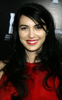 Shiva Rose at the Rodeo Drive walk of style awards ceremony.