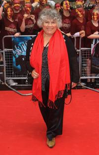 Miriam Margolyes at the world premiere of