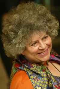 Miriam Margolyes at the