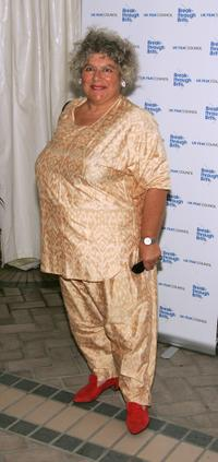 Miriam Margolyes at the UK Film Council's Inaugural