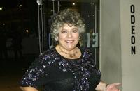 Miriam Margolyes at the Cinema and Television Benevolent Fund (CTBF) Royal Film Performance Annual charity screening of