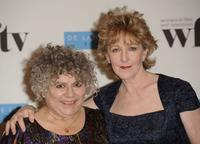 Miriam Margolyes and Patricia Hodge at the Women In Film And TV Awards.