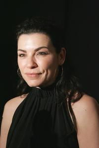 Julianna Margulies at the Chaiken Fall 2007 fashion show during Mercedes-Benz Fashion Week.