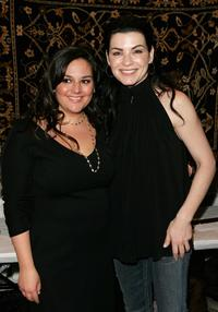 Julianna Margulies and Julie Chaiken at the Chaiken Fall 2007 fashion show during Mercedes-Benz Fashion Week.