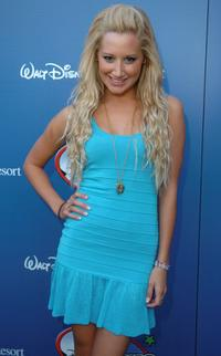 Ashley Tisdale at the Disney Channel Games 2007 All-Star party.