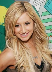 Ashley Tisdale at the MTV's Total Request Live.