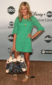 Ashley Tisdale at the 2007 ABC All Star Party.
