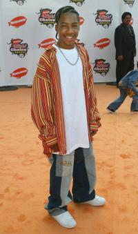 Lil' J.J. at the 18th Annual Kids Choice Awards.