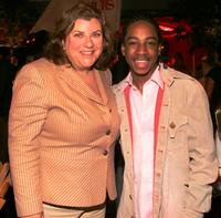 Gail Berman and Lil' J.J. at the after party of the premiere of