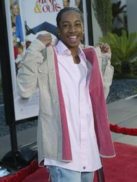 Lil' J.J. at the premiere of