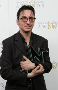 Richard Hawley at the Pop Award for Coles Corner at the South Bank Show Awards in England.