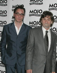 Richard Hawley and Spooner Oldham at the MOJO Honours List awards, recognizing career-long contributions to popular music, in England.
