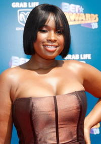 Jennifer Hudson at the 2008 BET Awards.