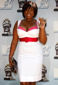 Jennifer Hudson at the 17th annual MTV Movie Awards.