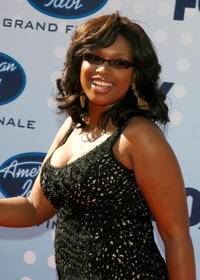 Jennifer Hudson at the American Idol Season 6 Finale.