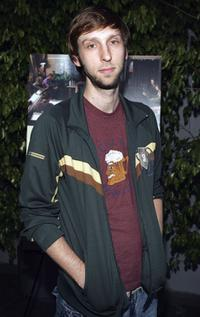 Joel David Moore at the premiere of