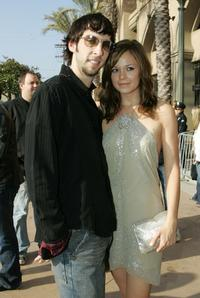 Joel David Moore and Rachel Boston at the 2005 MTV Movie Awards.