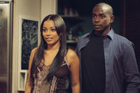 Lauren London and Keith Robinson in