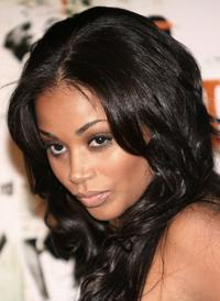 Lauren London at the premiere of