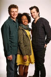 Brandon Thane Wilson, Keziah Niambi John-Paul and Director David Andalman at the 2008 Tribeca Film Festival.
