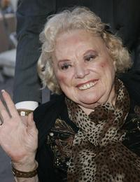 Rose Marie at the tribute Red Buttons: A Celebration of Life and Laughter.