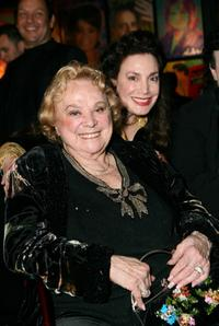 Rose Marie and Donelle Dadigan at the Stars for a Cause Charity Auction.