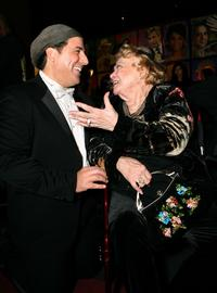 Rose Marie and Artist Nicolosi at the Stars for a Cause Charity Auction.