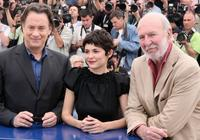 Tom Hanks, Audrey Tautou and Jean-Pierre Marielle at the photocall of
