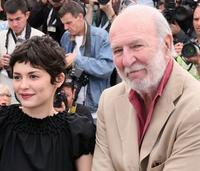 Audrey Tautou and Jean-Pierre Marielle at the photocall of