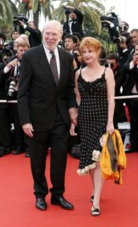 Jean-Pierre Marielle and Guest at the premiere of