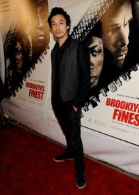 Wade Allain-Marcus at the premiere of