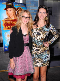 Ryan Simpkins and Heather Braverman at the New York premiere of