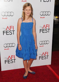 Ryan Simpkins at the premiere of