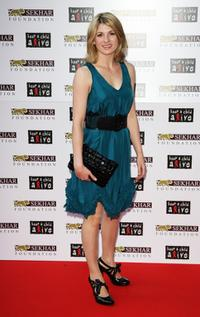 Jodie Whittaker at the Alicia Keys Keep a Child Alive Black Ball.