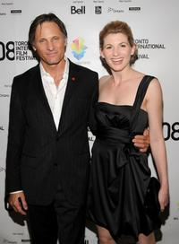 Viggo Mortensen and Jodie Whittaker at the premiere of