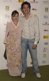 Carmen Machi and Paco Leon at the 15th Actors Union Awards ceremony.
