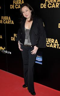 Carmen Machi at the premiere of