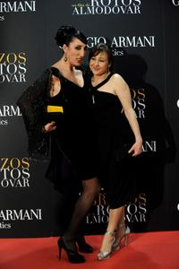 Rossy de Palma and Carmen Machi at the world premiere of