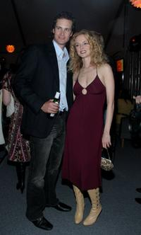 Randall Batinkoff and Heather Graham at the world premiere party of