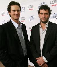 Randall Batinkoff and Jeremy Sisto at the world premiere party of